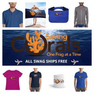 Saving Corals Swag - Ships Free